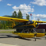 Modified-PA12-Piper-with-Warner-engine-and-Fairchild-struts-on-2200-amphibious-Montana-Float